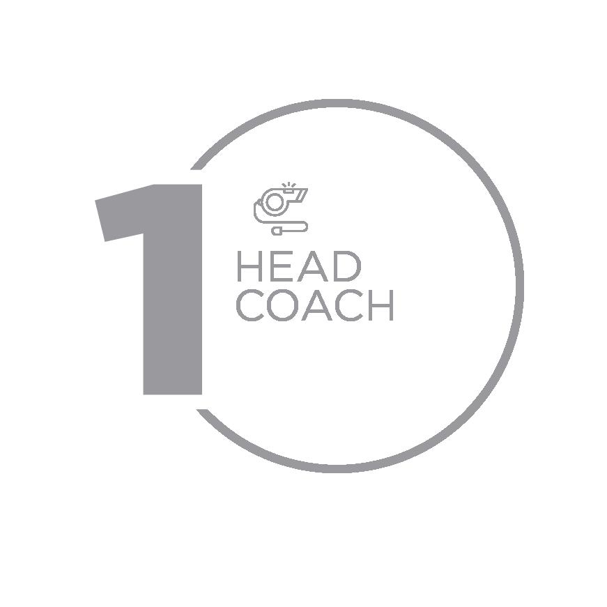 Step 1 - Contact Head Coach