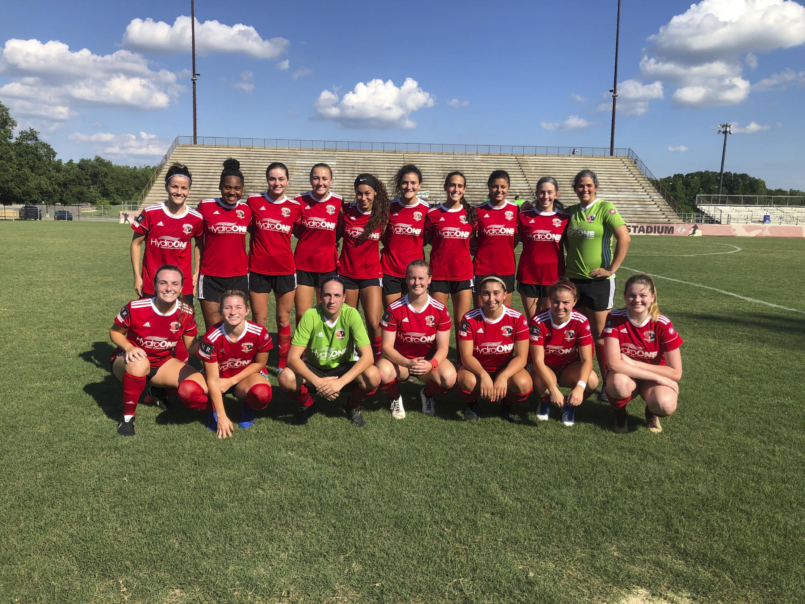 BRSC United WPSL 2019 Team