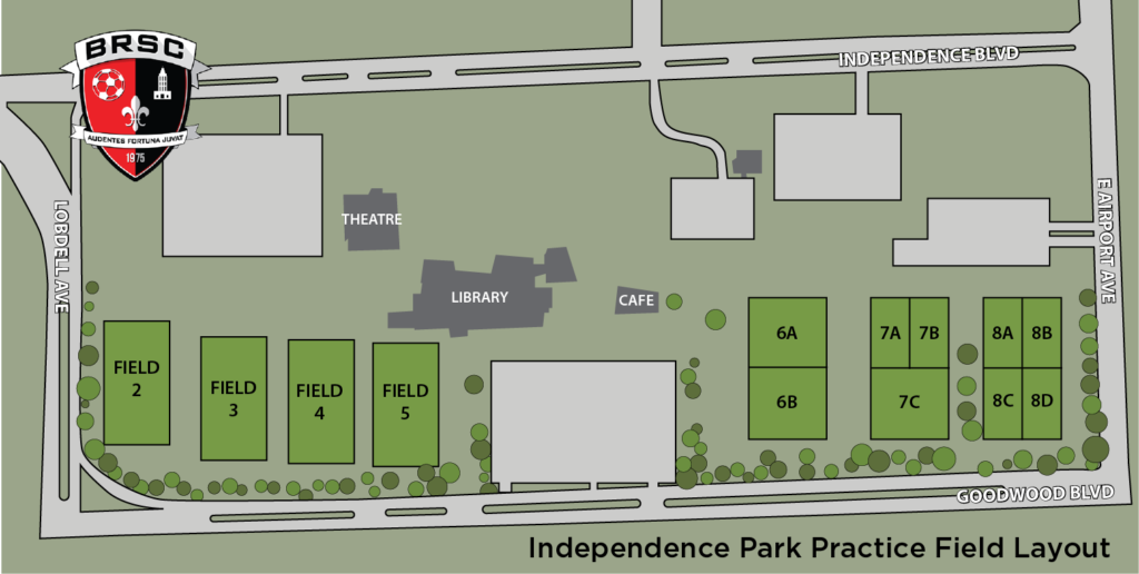 Independence Park Field Map