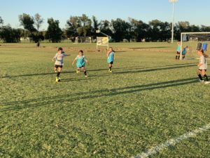 U10 Junior Competitive Girls Training