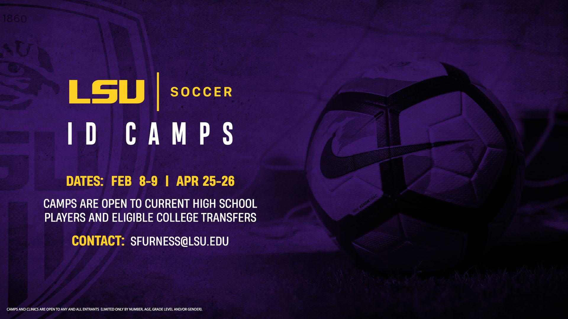 Lsu Women S Soccer Id Camp Baton Rouge Soccer