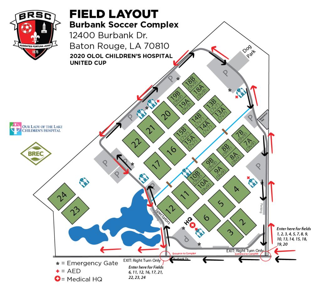 BRSA-161 Burbank Field Map United Cup 20-01