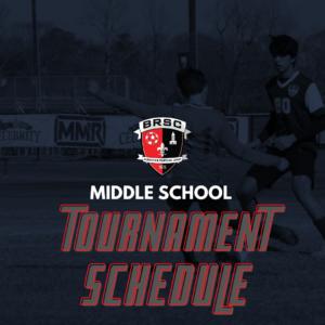 MS Tournament Schedule